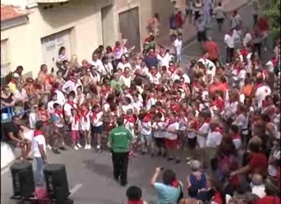 Los encierros de San Fermín en La Mata