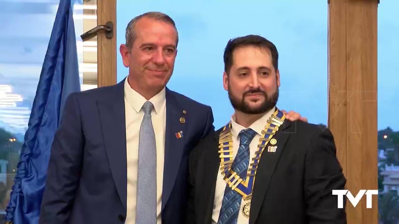 Cambio Presidencia Rotary