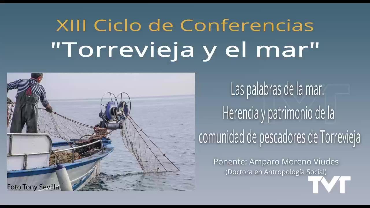 Conferencia Torrevieja y el mar - Amparo Moreno
