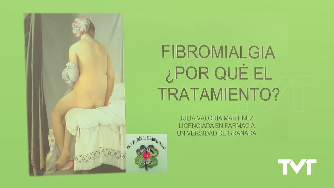 Conferencia Julia Valoria sobre Fribromialgia