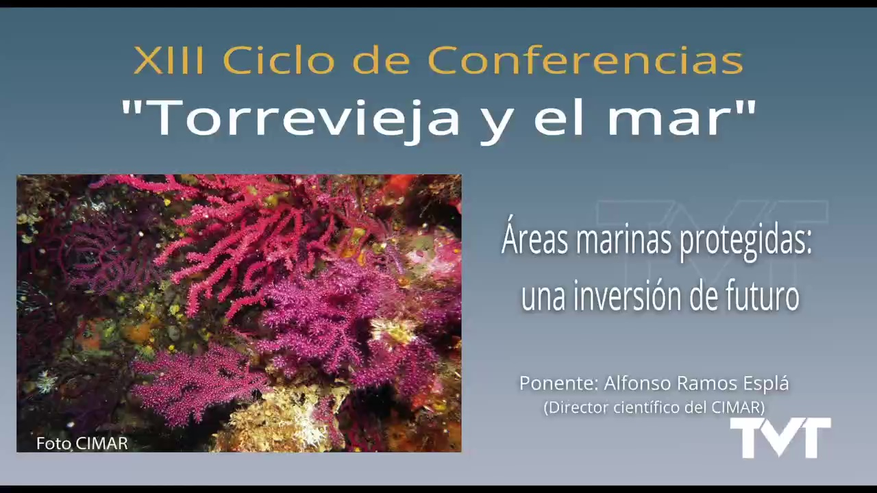 Conferencia Torrevieja y el mar - Alfonso Ramos