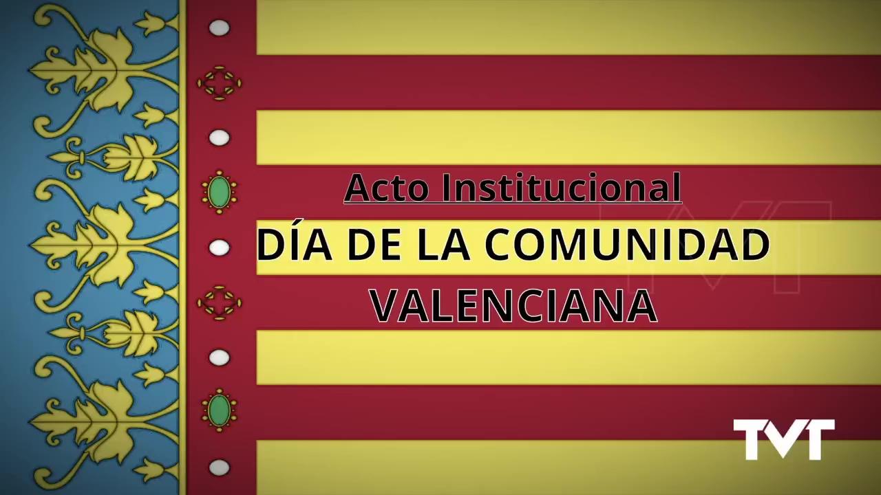Acto Institucional Día de la Comunidad Valenciana