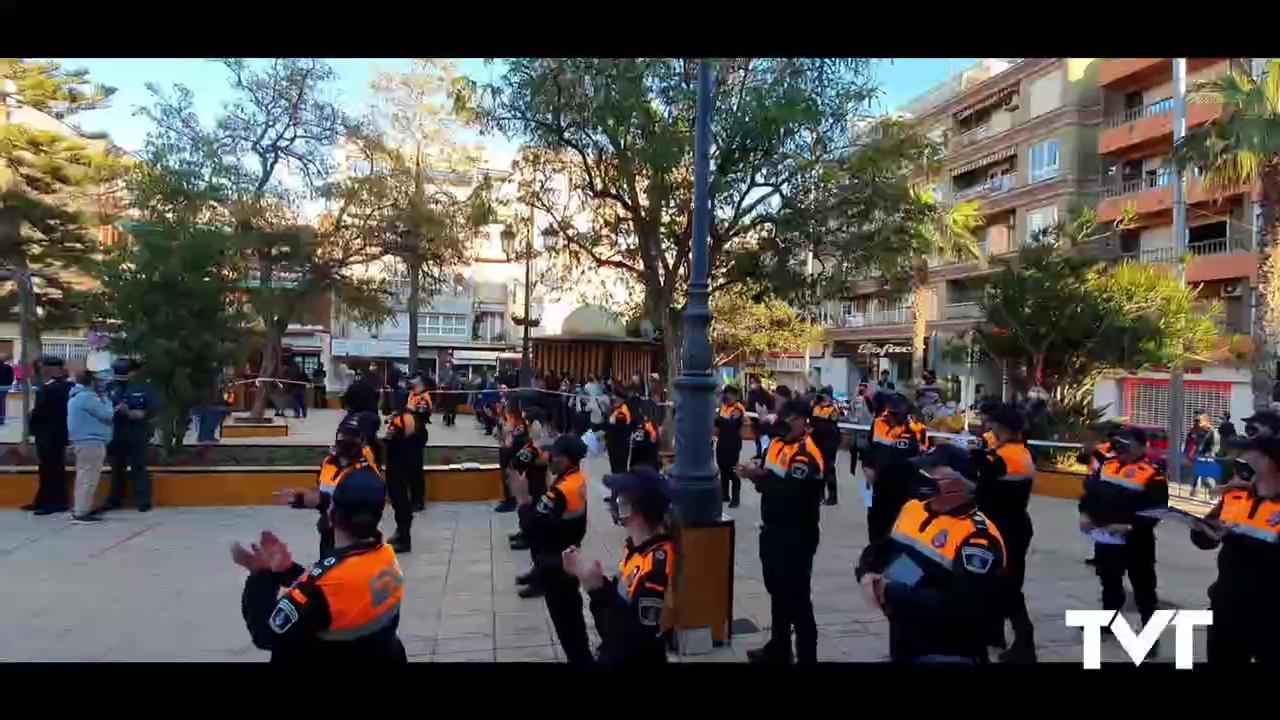 Homenaje Protección Civil