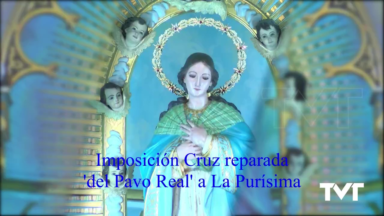 Imposición CruzPavo Real a La Purísima