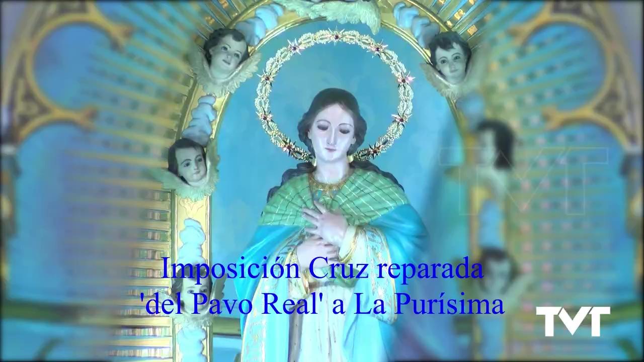 Imposición CruzPavo Real a La Purísima