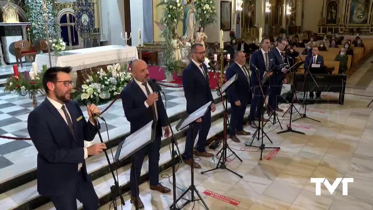 Serenata en honor a la Purísima