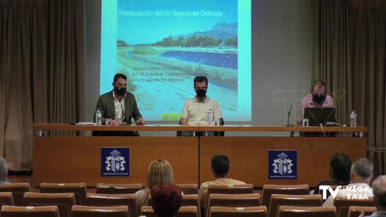 Conferencia Restauración Río Segura Orihuela