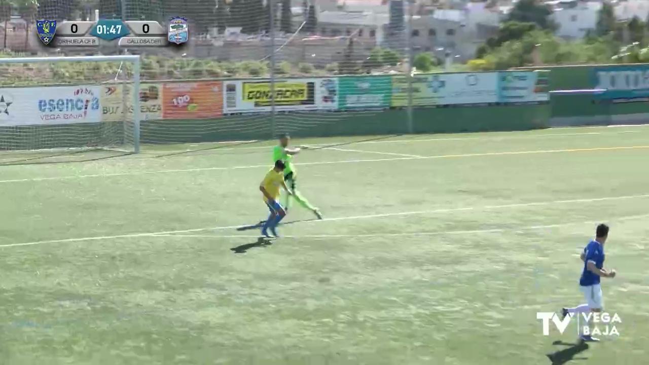 Partido Orihuela CF B - Callosa Deportiva