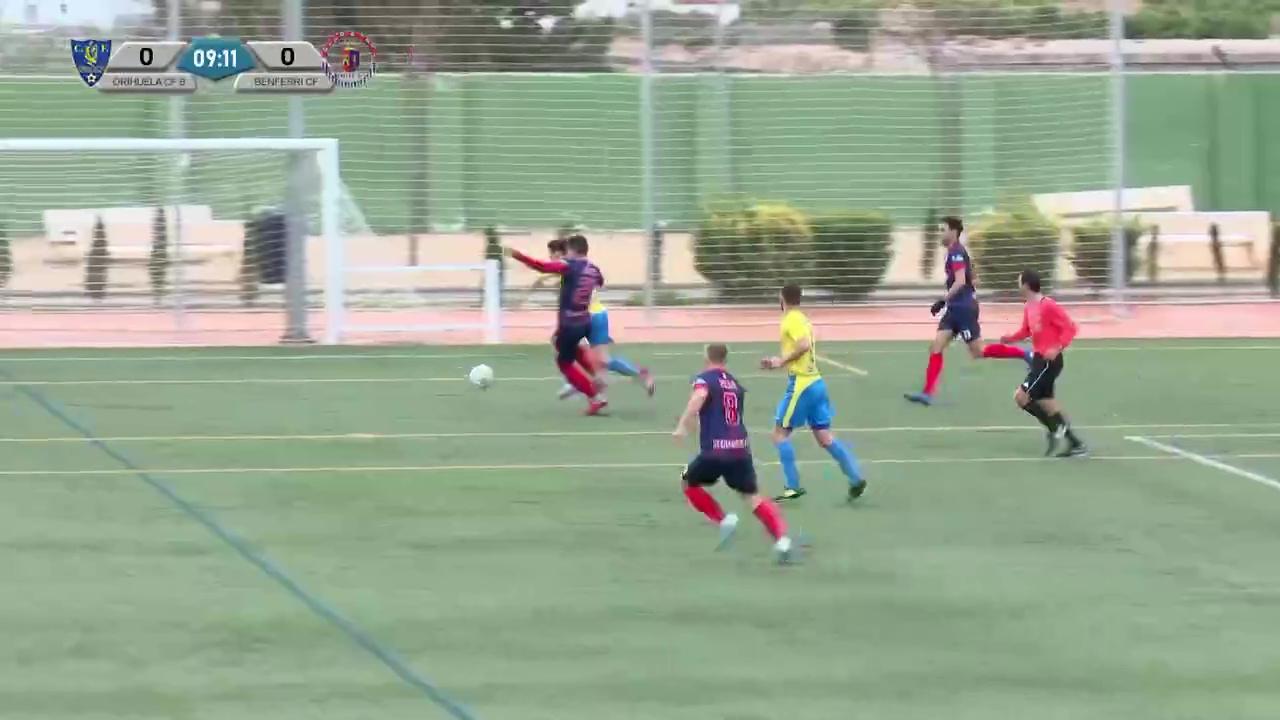 Partido Orihuela CFB - Benferri CF
