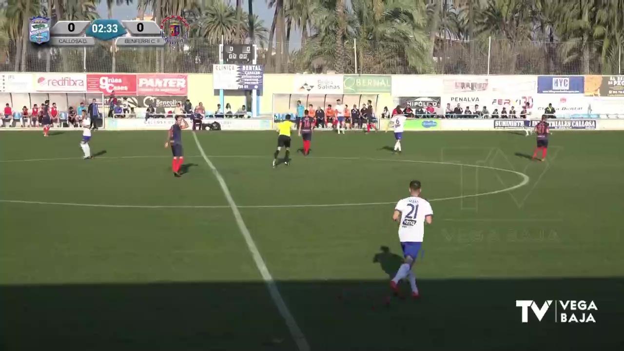 Partido Callosa Deportiva - Benferri CF