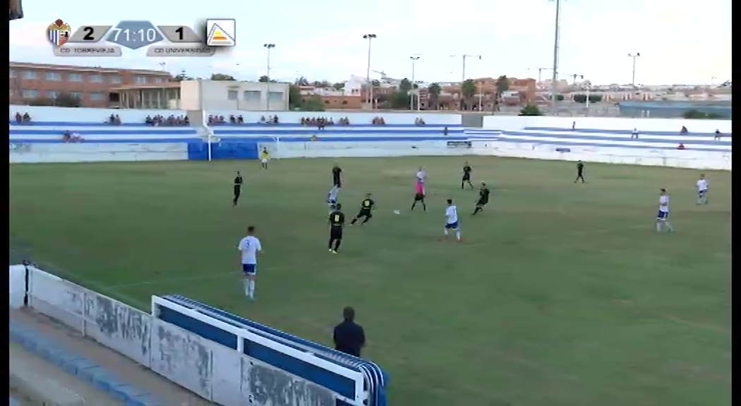 Segunda parte del partido CD Torrevieja - CD Universidad