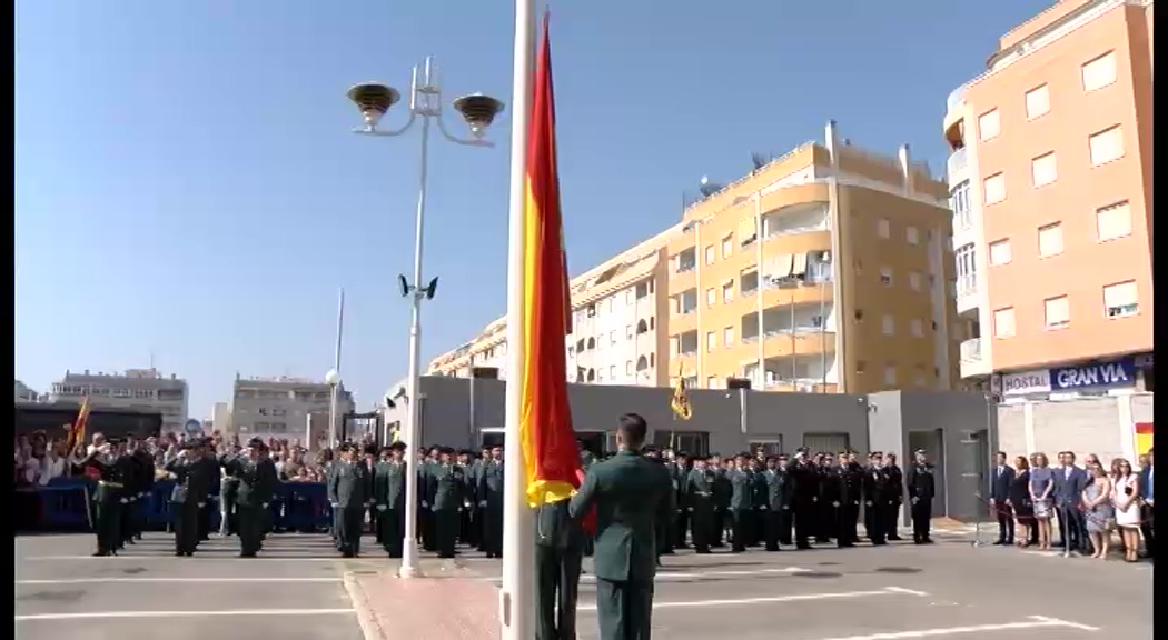 Acto Guardia Civil Vírgen del Pilar