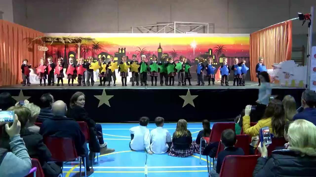 Teatro Navidad Colegio La Purisima 1ºA y 2ºA
