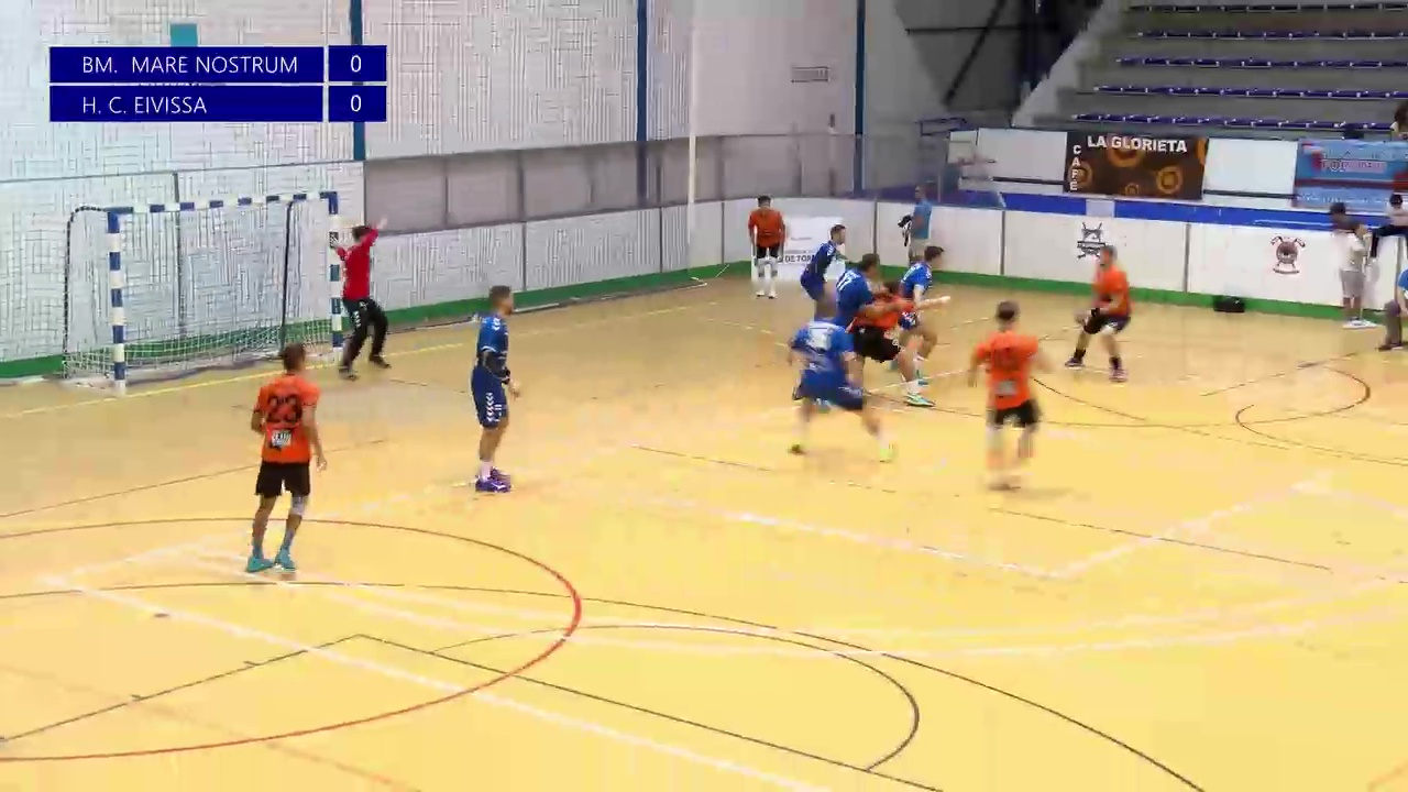 Partido BM Mare Nostrum - HC Eivissa