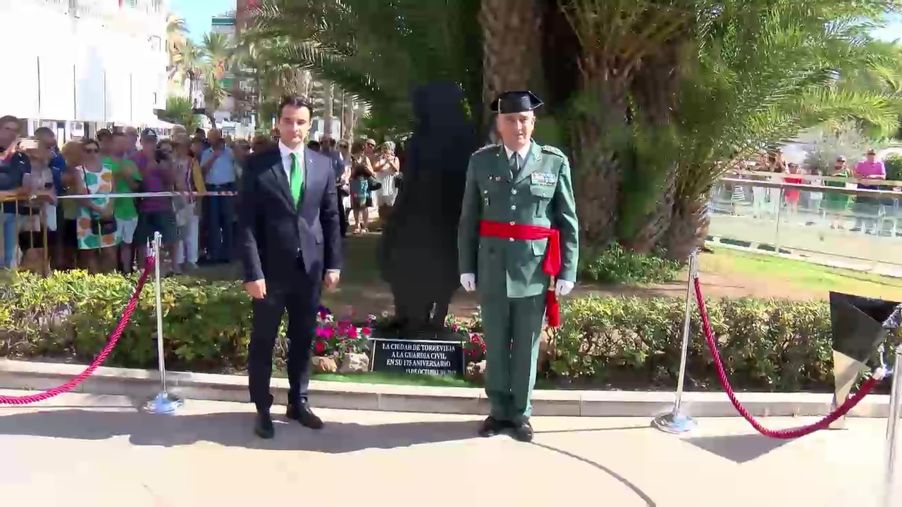 Inauguracion Monolito Guardia Civil
