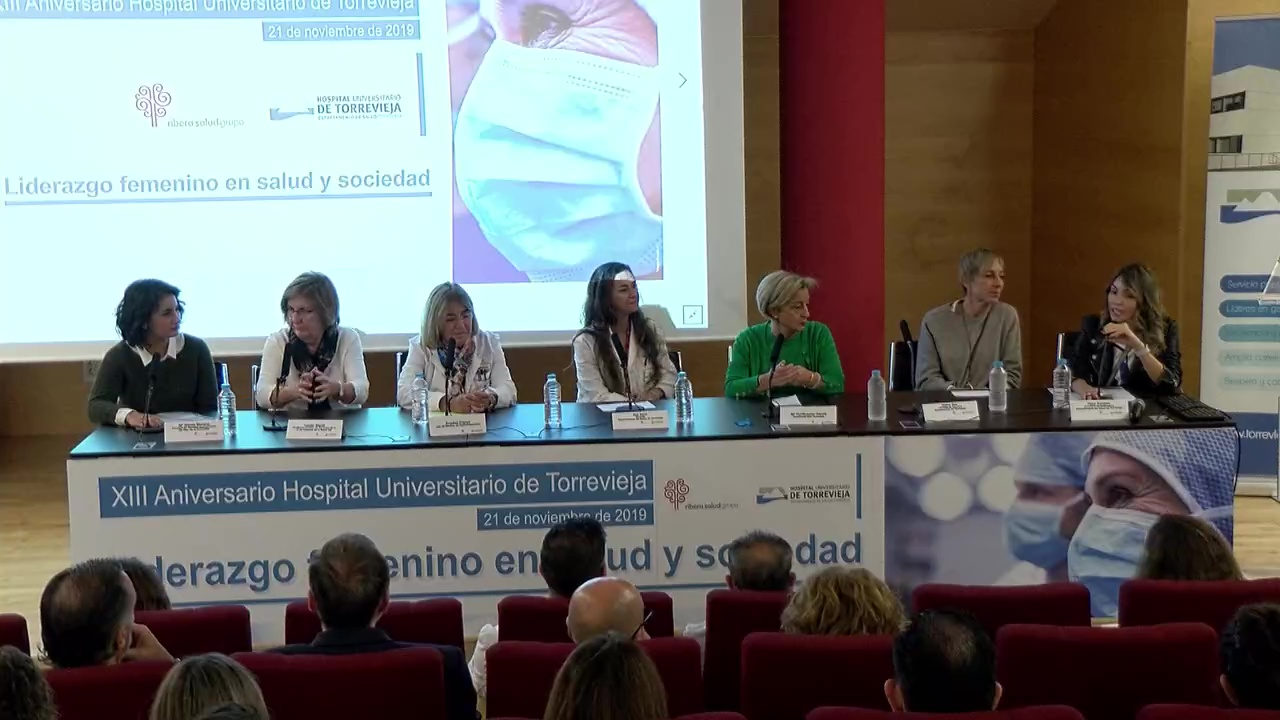 Coloquio Liderazgo Femenino Torrevieja Salud