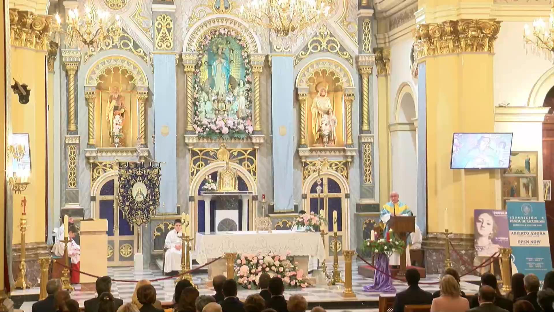Solemne Eucaristía de La Purísima