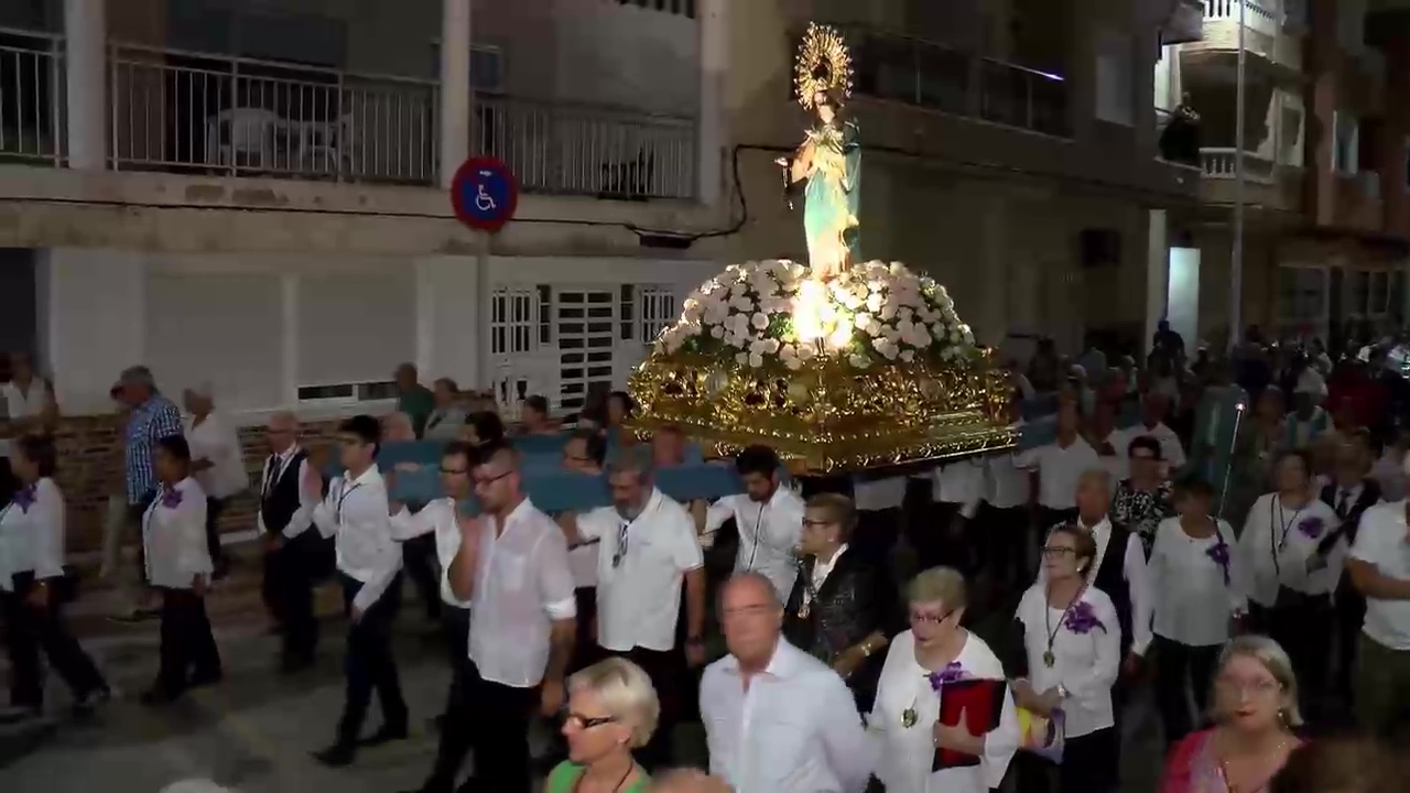 Procesion Virgen del Rosario