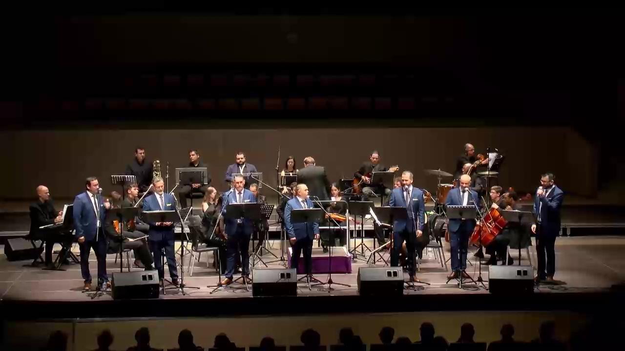 Concierto Sette Voc y Orquesta Sinfonica MEditteranea