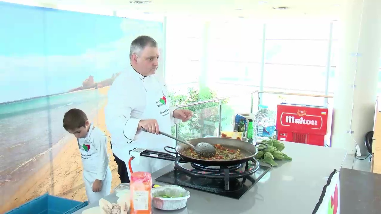 Showcooking arroz