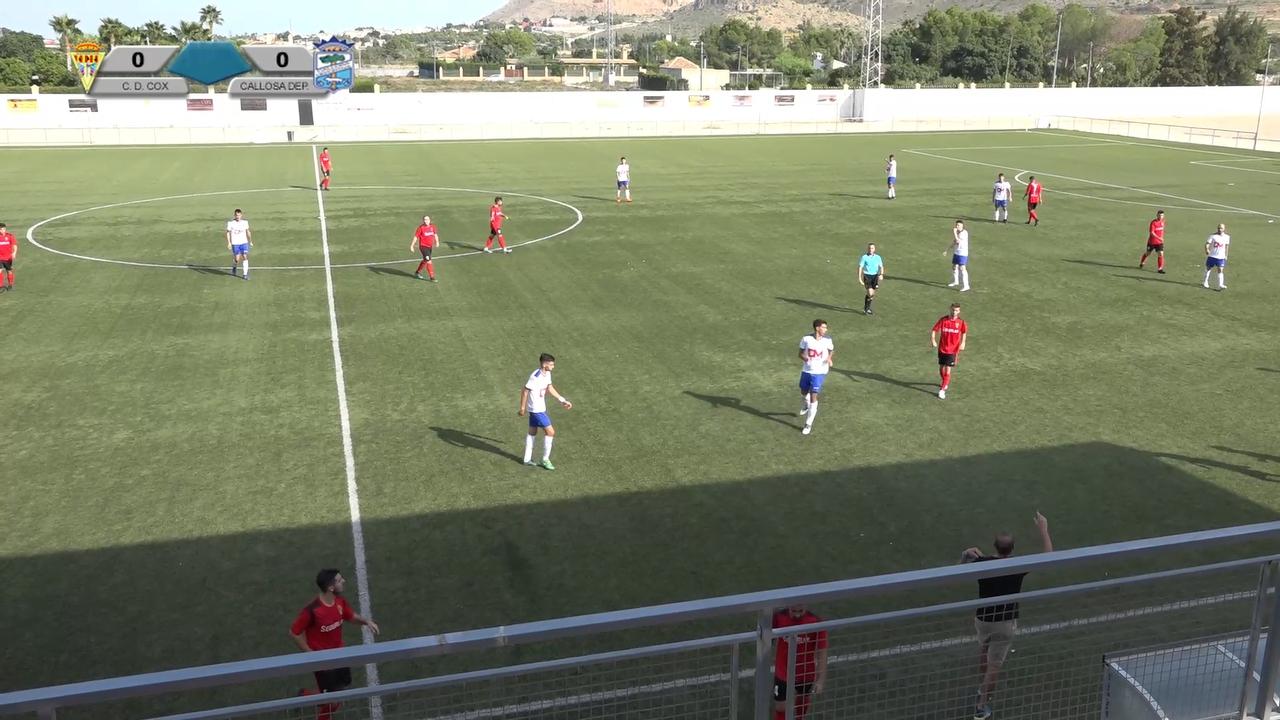 Partido CD Cox - Callosa Deportiva