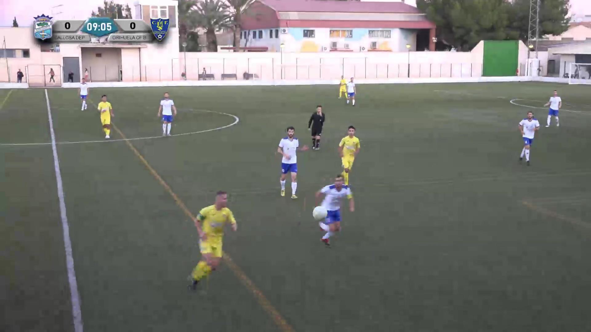 Partido Callosa Deportiva - Orihuela CF B