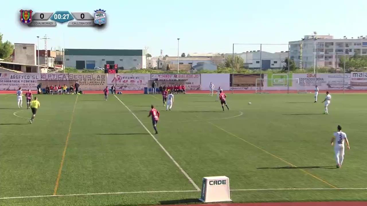 Partido CD Almoradí - Callosa Deportiva